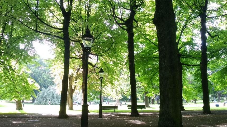 Stockhom, Humlegården, ambient parc