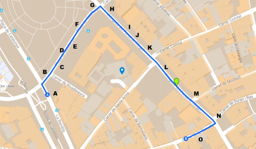mapa binaural portal de l'Àngel