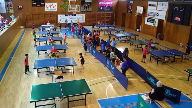 551d9ddc9 Campeonato infantil de Tenis de mesa   Children s Table Tennis ...